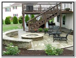 wood back yard deck ideas 33 patio design under deck back