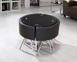 round table with chairs that fit underneath round black dining table and chairs marceladick com