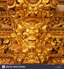 wood carving bali in indonesia stock photo royalty free image
