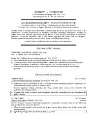 example of resume for college student sample students resume