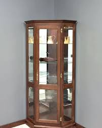 wall mounted curio cabinet wall mounted curio cabinet corner medium size of small as well ebay