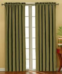 Grommet Curtains 63 Length Chocolate Stainless Steel Nickel Grommet Top Solid Thermal