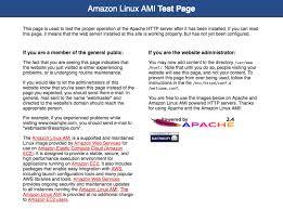 tutorial installing a lamp web server on amazon linux amazon