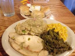 thursday special turkey and dressing plus 2 sides