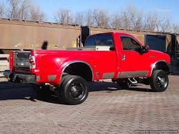 Ford 3500 Diesel Truck - dually 2006 ford f 350 xlt diesel lifted regular cab for sale