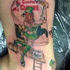 leprechaun tattoos and designs page 5