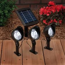 Solar Spot Lights Outdoor Solar Spot Lights On Winlights Deluxe Interior Lighting Design