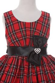 black sash checker dress with black sash flower girl dress