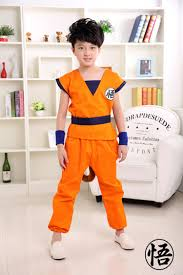 dragon halloween costume kids online shop 2017 new japanese anime dragon ball goku cosplay