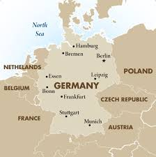 map of countries surrounding germany germany geography maps goway travel