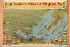 Map Of Virginia Beach Eastern Shore Of Virginia Cornell University Library Digital