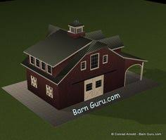 Horse Barns With Apartments Plans Barn Plans 2 Stall Horse Barn With Living Quarters Dream Home