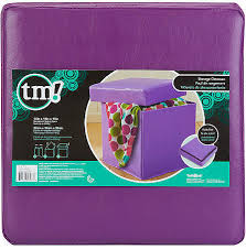 beautiful collapsible storage ottoman tm purple collapsible
