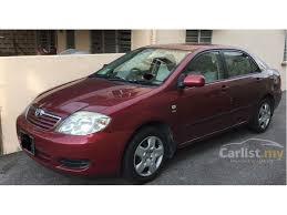 toyota corolla 2005 toyota corolla altis 2005 g 1 8 in selangor automatic sedan