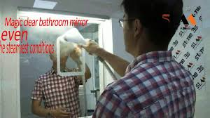 How To Keep Bathroom Mirrors Fog Free Super Mirror Antifog Mirror Fogless Mirror No Fog Mirror Youtube
