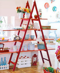 Ladder Decoration For Christmas by Interior Decorating With Wooden Ladders Creative Room Decor Ideas