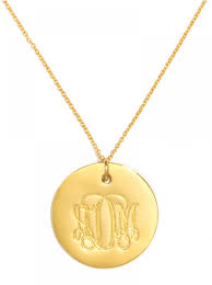 disc pendant necklace jumbo disc pendant necklace baublebar