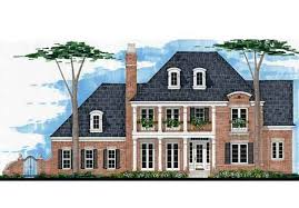 Federal Home Plans Federal Georgian House Plans Southern Living House Plans