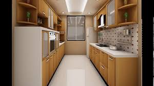 parallel kitchen designs for the efficient kitchen traffic