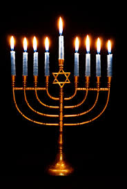 hanukah candles to all my followers that celebrates hanukkah evening december 16 to