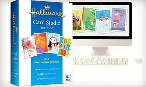 card program hallmark card studio software groupon