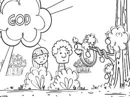 the most elegant adam and eve coloring pages to encourage in