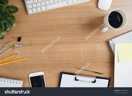 Office Desk Top View Furniture Office Table Top View Office Desk Laptop Coffee Above