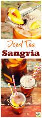 iced tea sangria recipe best mocktail drinks ideas