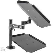 citronic djp3 cdj laptop controller stand table dj desk mount