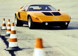 mercedes brings out famed c111 experimental car for rally in the