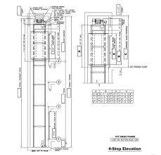 Overhead Door Stop by Cable Drive Drawings Custom Elevator