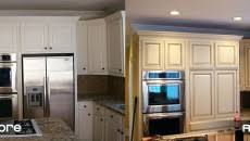 how much does replacing kitchen cabinet doors cost of only