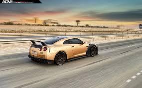 Nissan Gtr Custom - carbon u0026 gold nissan gt r looks beyond mean 33 pics