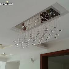 Chandelier Bathroom Lighting Contemporary Led Luster Crystal Chandelier Interior Curtain Wave