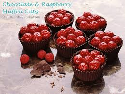 chocolate raspberry dessert chocolate cups fun and food cafe