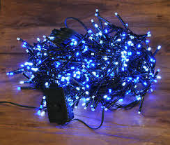 blue white christmas lights 480 blue white cluster led christmas supabrights string lights by