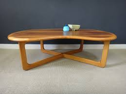 kidney shaped table for sale mid century kidney coffee table retrocraft design collection