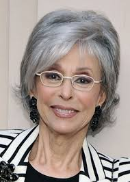 rita moreno pictures hair short hair with volume although she usually wears her short gray