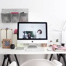 workspace in myblueberrynightshome with new imac kikkik planner