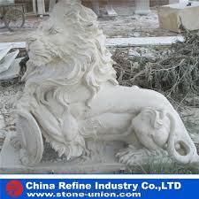 marble lion white marble lion statues lion marble sculpture landscape