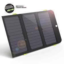 Diy Solar Phone Charger Amazon Com Solar Panel Charger Allpowers 21w Solar Charger With