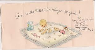 baby shower u2013 vintage postcards magic of color