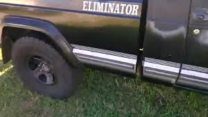 1988 jeep comanche pioneer 4x4 88 comanche eliminator 4 0 idling youtube
