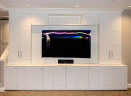 Wall Units Inspiring Custom Made Media Cabinets Built In