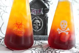 spooky halloween drink toxic tonic lady and the blog