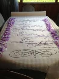purple aisle runner diy aisle runner wedding aisle runner ceremony diy flower
