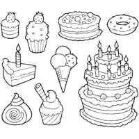printable candy coloring pages coloring