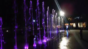 water fountain with lights marque mall philippines water fountain with lights youtube