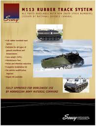 band tracks for m113a3 u003ci u003egavin u003c i u003es m8 buford armored gun systems