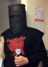 the black knight costume from